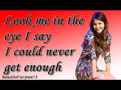 Victoria Justice - You're The Reason (letra) [Victorious]