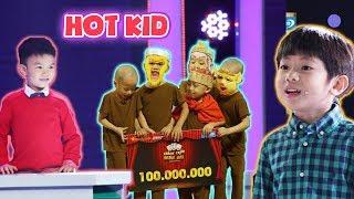 Có ai từng biết, MC Trấn Thành từng muốn có con trai như những hot kid này ?