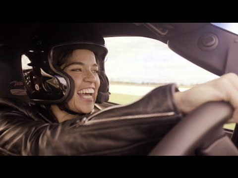 Riding Shotgun With Michelle Rodriguez: 2008 Corvette ZO6