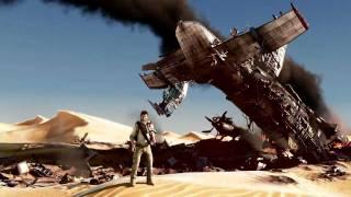 Uncharted 3 Plane Crash Scene