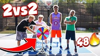 2HYPE 3-Point & Tip-In Game - 2V2 48 BASKETBALL *PRIZE WHEEL*