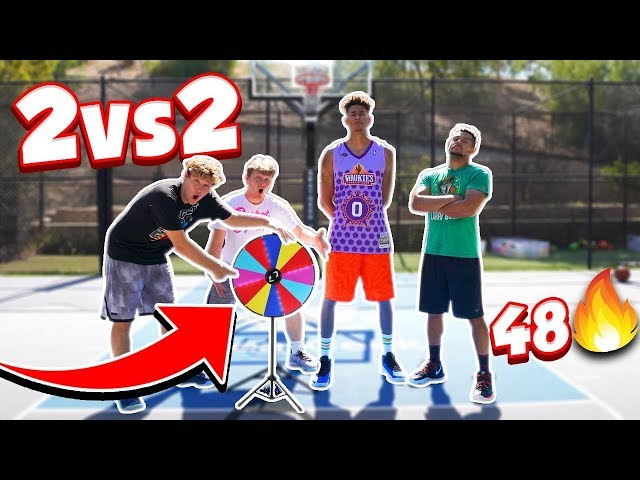 2HYPE 3-Point & Tip-In Game - 2V2 48 BASKETBALL *PRIZE WHEEL* thumbnail