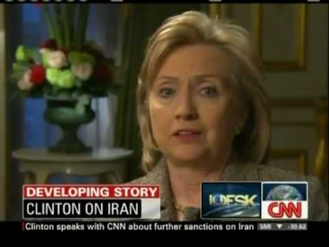 Hillary Clinton speaks about further sanctions on Iran - 28 January 2010