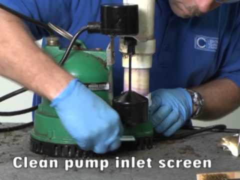 Simple Sump Pump Maintenance
