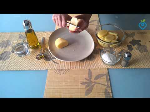 Patatas al microondas - Dietas Online Cenur.es - Recetas light - Cocina Sana
