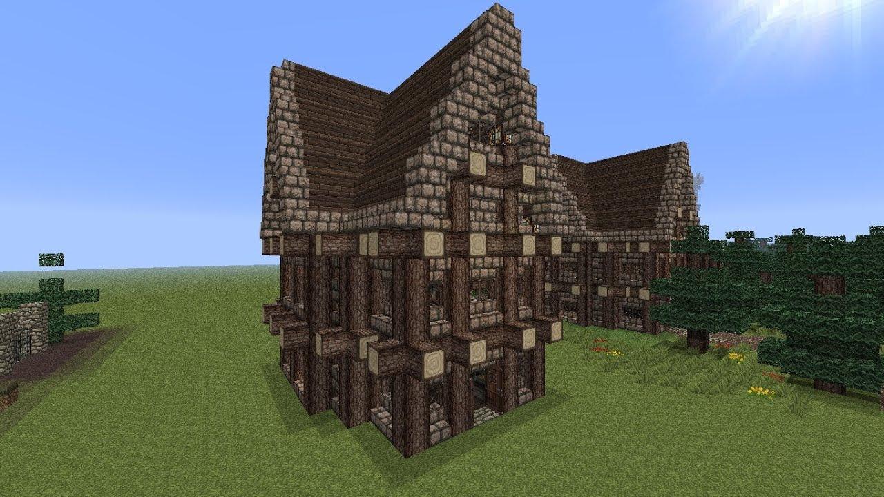 Tuto comment faire une maison de sorcier dans minecraft - Comment faire des bougies maison ...