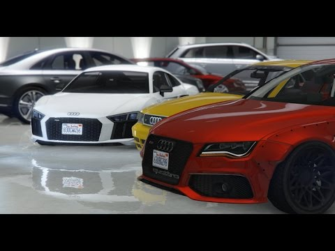 GTA 5 My Audi Collection - Real Car Mods