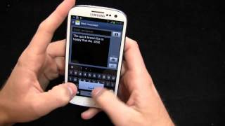 Samsung Galaxy S III Unboxing
