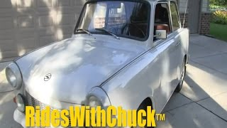 We go for a ride in a 1967 Trabant!!! A rare car in the USA   Trabi