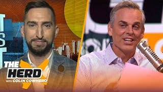 Nick Wright breaks down why the Cowboys are likely a 9 win team, talks Lakers, AD & more | THE HERD