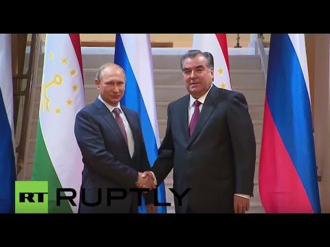 Tajikistan: Putin and Tajik President hold bilateral talks ahead of CSTO meeting