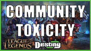 League of Legends community toxicity