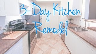 (3.36 MB) Kitchen Remodel for Less Than $3,500 Mp3