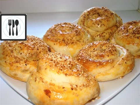 Ачма с картофельной начинкой. Турецкие пироги с картошкой.