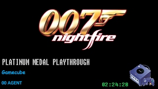 Nightfire 007: Platinum Medal Playthrough [00 Agent]