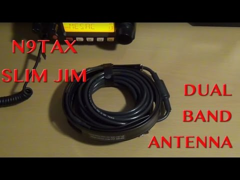 N9TAX Slim Jim Dual Band Antenna Review