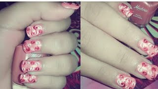 Easy nail art | DIY nail art