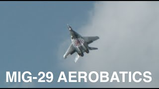 MiG-29 Full Throttle Aerobatics - Smokey!