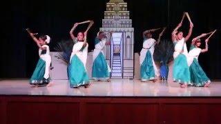 Kolattam (Stick) Dance - Tamil Cultural Show 2015- Dallas,