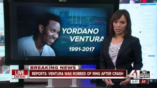 Report: Yordano Ventura was robbed of World Series ring after crash