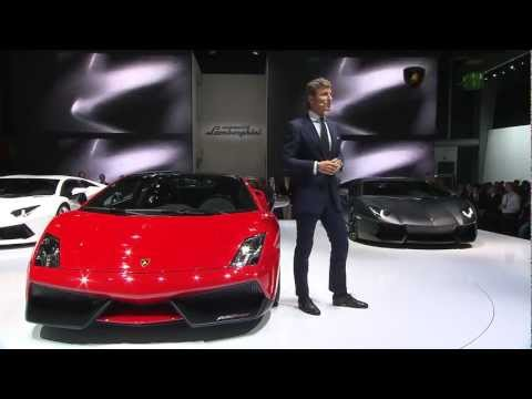 Lamborghini Super Trofeo Stradale – Frankfurt IAA 2011 Press Conference