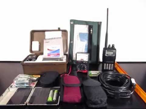 Emergency Communications Bug Out Bag
