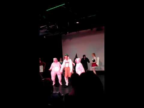 of Freak Flag from Shrek the Musical. I play the little pig