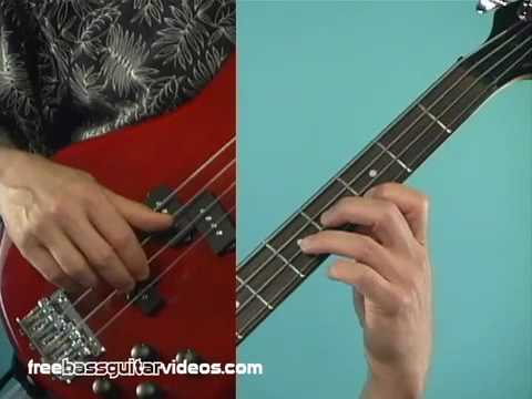 Bass Guitar Lesson: Easy Blues Line video