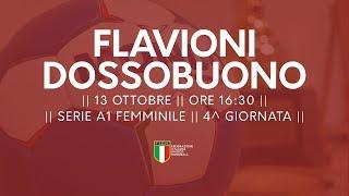 Serie A1F [4^ giornata]: Flavioni - Dossobuono 16-26