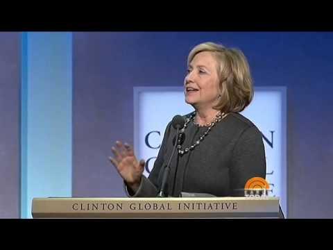 Clinton Aide Follows Reporter To The Bathroom At CGI