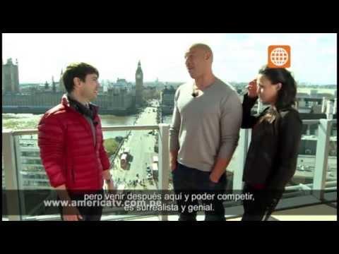 Cinescape: Entrevista Vin Diesel y Michelle Rodriguez - 18/05/2013