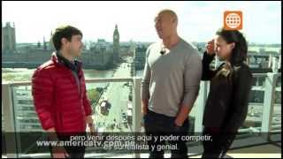 Cinescape: Entrevista Vin Diesel Y Michelle Rodriguez - 18/05/2013