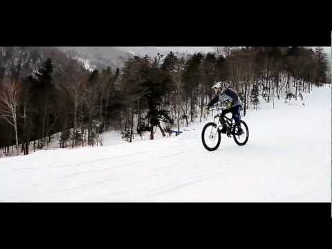 Маунтинбайк - снежная дуэль 2013