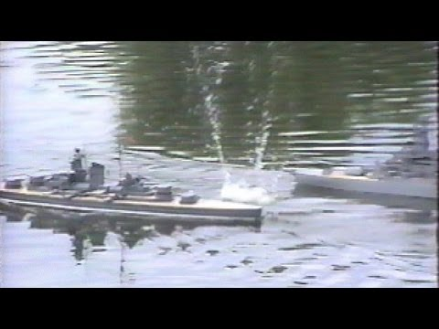 Big Gun RC Combat 1 - WE SINK SHIPS