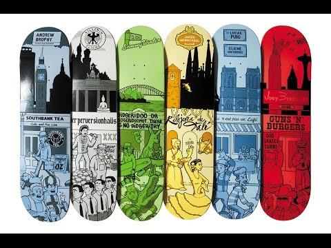 Cliché Skateboards Street Series