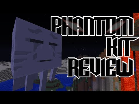 MCPVP.com   Review #26 PHANTOM Kit Review   Minecraft Hunger Games