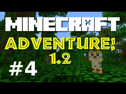 "Minecraft Adventure! E04 ""Name My Cats!""  (Minecraft 1.2 Game-play) – 2MineCraft.com"