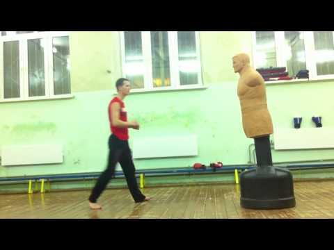Удар по манекену 540 градусов   taekwondo тхэквондо таеквондо тэквондо тхеквондо takwondo каратэ кар