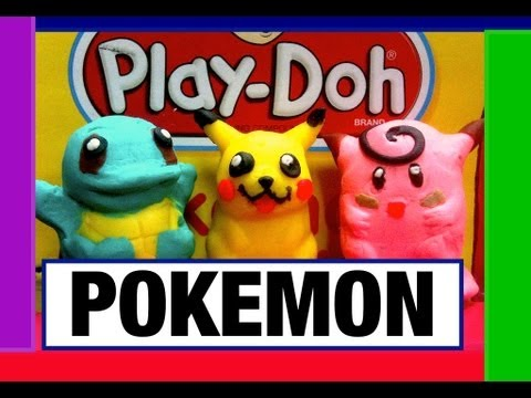 Play-Doh Pokemon Character Maker Play Dough AND Fail Toy Review by Mike Mozart of TheToyChannel