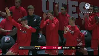Highlights: Five Utes score in double figures, Utah men's basketball downs USC