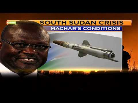 S. Sudan peace deal in jeopardy after Riek Machar fails to jet into Juba