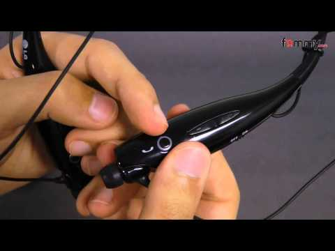 LG® (OEM) HBS 700 Bluetooth Stereo Headset Review in HD