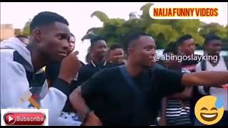 Funny Street Battle [ Naija Funny Videos, Bad Mout]