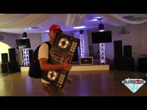 Time Lapse Dj Rezik 2016 set up