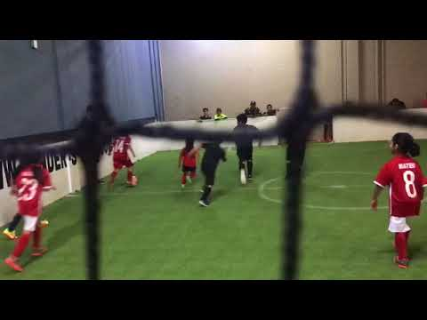 Unos First indoor Soccer game
