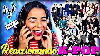 REACCIONANDO AL K-POP   #MIERCOLESRANDOM