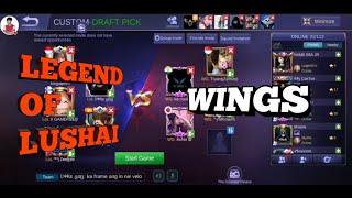 Legend Of Lushai     VS    Wings  || Mizo ML Squad Battle