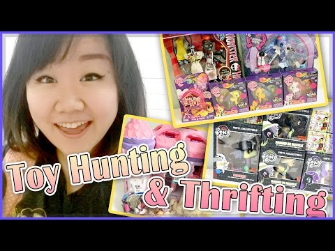 Toy Hunting & Thrifting - Monster High Wydowna, Littlest Pet Shop And So Many My Little Pony!!! video