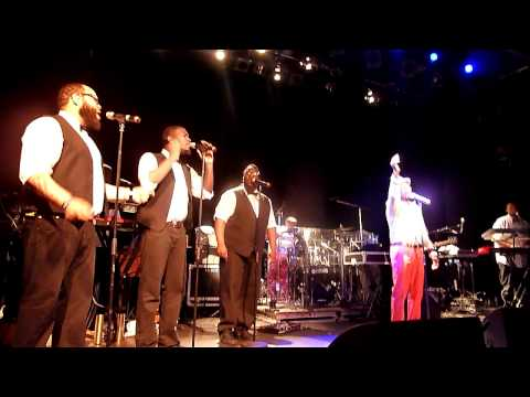 Anthony Hamilton - Pass me over Live