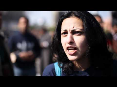 Interview with pro-democracy activist at Tahrir Square